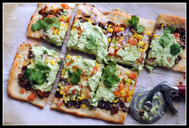 ... Monday & Money Matters: Southwestern Pizza with Black Beans and Corn