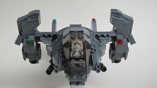 DARKWATER Talon Dropship V-1.1 Frontview