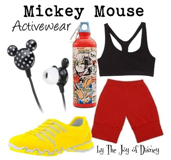Inspired by: Mickey Mouse Activewear