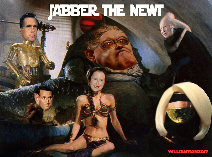 JABBER THE NEWT