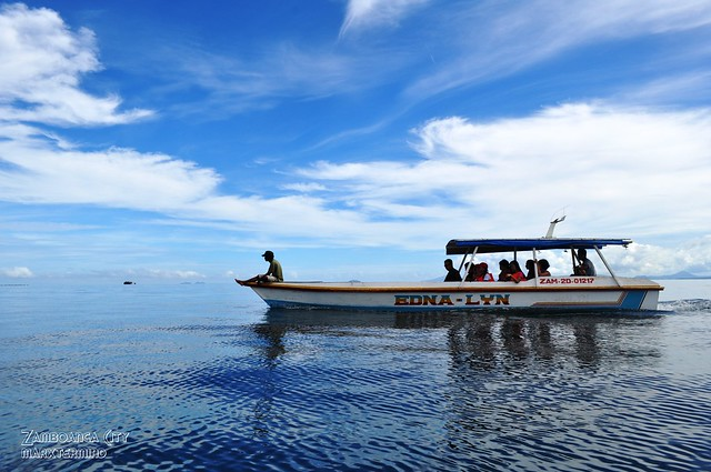 Boat Ride from Sta. Cruz Island
