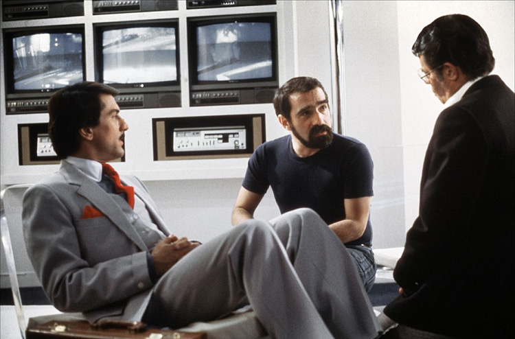 robertdeniro+martinscorsese+jerrylewis-filming-king-of-comedy
