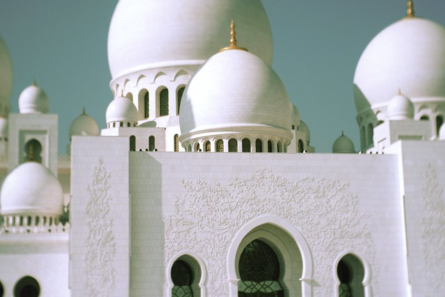 Sheikh Zayed Grand Mosque on Boxing Day