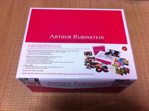 Arthur Rubinstein - The Complete Album Collection