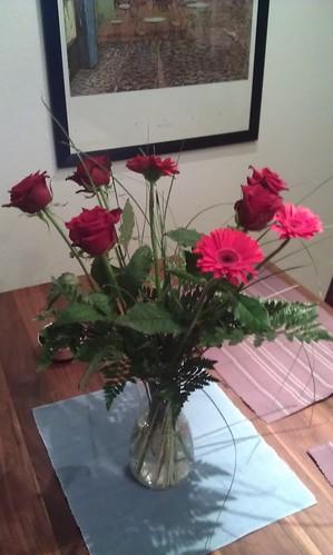 Blumen zum 5-jährigen