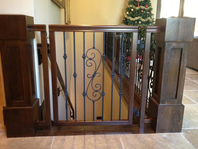 Custom Wood And Iron Baby Gate Flickr Photo Sharing