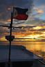 Philippine Flag Sunset