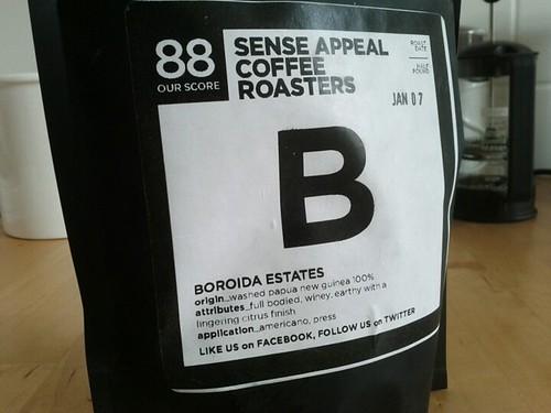 Sense Appeal Coffee Roasters Boroida Estates, Toronto
