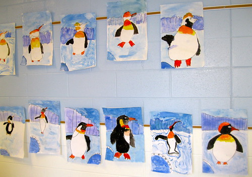 Day 24 - March of the Penguins by Karin Beil