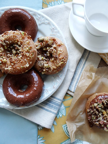 baked donuts // 3 ways