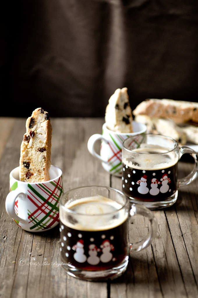 Fig, raisin & cashew Biscotti