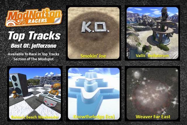 PS Vita: ModNation Racers: Road Trip - Top Tracks