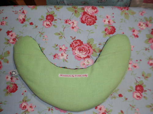 Neck pillow from pattern from Sewing Green by Betz White
