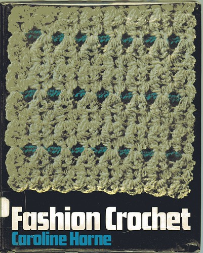 vintage Fashion crochet book