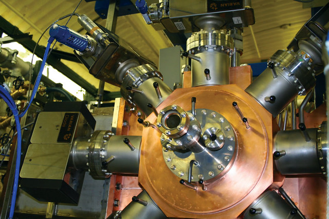 LANL successfully tested a new high-current electron injector, a device that can be scaled up to produce the electrons needed to build a higher-power free-electron laser prototype for the U.S. Office of Naval Research.  Operating at the speed of light, the laser will protect the U.S. Navy's fleet of the future by defeating multiple incoming missiles in different maritime environments with a high-power beam of wavelength-tunable light.