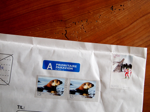 letter from norway