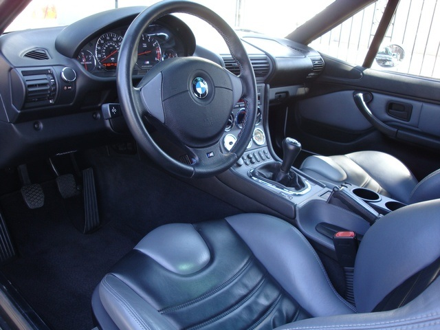 2000 M Coupe | Alpine White | Gray/Black | Interior