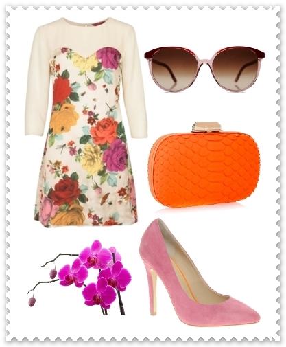Wear floral dress
