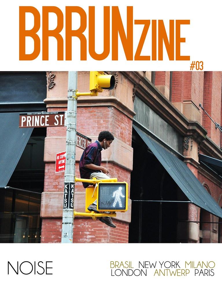 "BRRUNzine #03 — ""Noise"" by Elia Artico — Creative Director: Bruno Capasso"