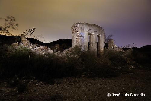 Ruinas en Calblanque by José Luis Buendía