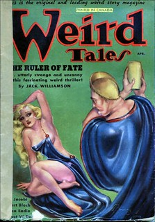 149c Weird Tales (Canada) Cover by Margaret Brundage Apr-1936 Includes The Rajah's Gift by E. Hoffmann Price