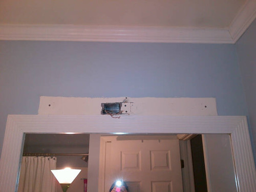 Bathroom Light Fixture No Junction Box the curse of the bathroom light fixture | running notes