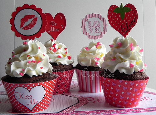 San Valentin para regalar ♥♥ by Mily'sCupcakes