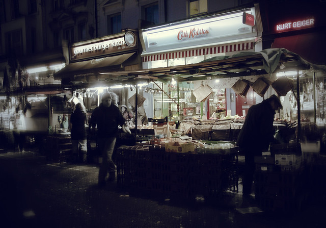 Evening view - Portobello Road