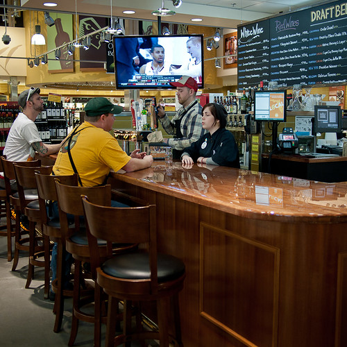 Whole Foods Sports Bar