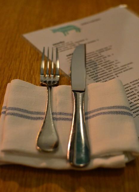 Knife Fork Napkin