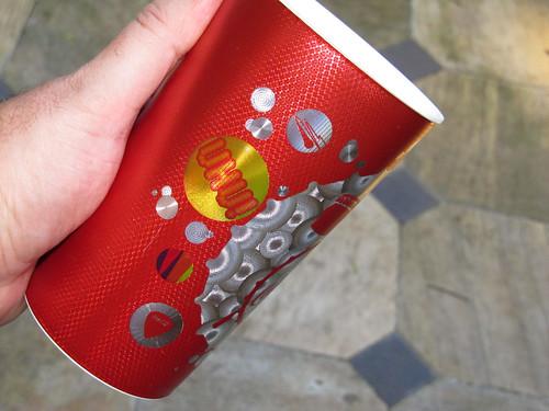 2012 red 2 600 ml cups Summer-Music Coca-Cola promo Rio de Janeiro - det by roitberg