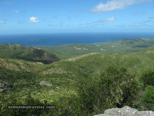 Curacao Mt Christofell summit 03