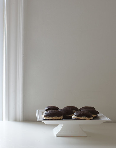 Chocolate & Salted Caramel Whoopie Pies