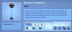 Blackfyre Candelabra