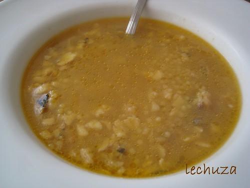 Sopa de rape-plato 1