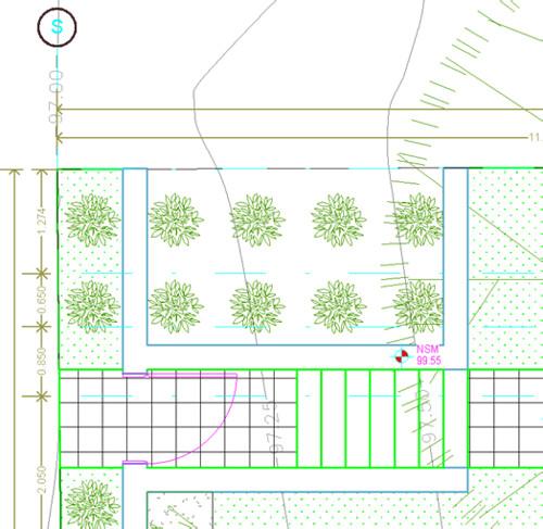 Las lineas de suelos quedan sobre las líneas de los muros 6837156871_edeb7b81c3