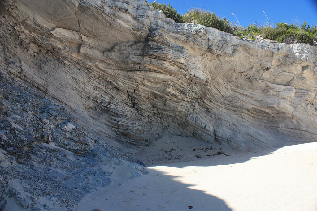 Lithified Sand Dune, Lighthouse Beach - Eleuthera, Bahamas