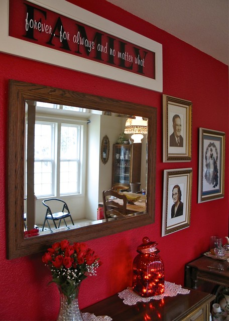 Red Entry Way