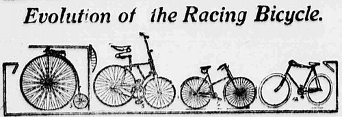 Evolution of the Racing Bike (1908)