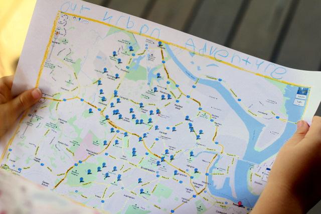 Planning our next urban adventure