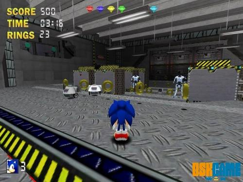 Sonic The Hedgehog 3D 3