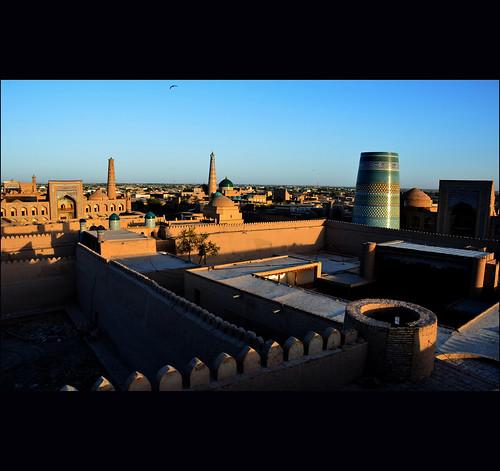 sunset nikon uzbekistan chiva blinkagain