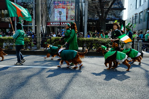 Harajuku St Patricks Day Parade 2014 11