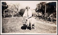 0779 Riding a sheep