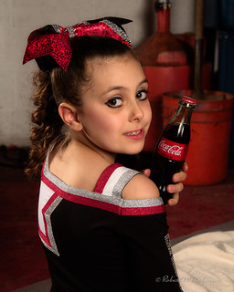 Kaydence and a Coke Bottle