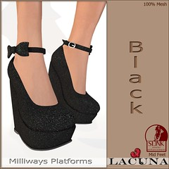 Milliways Platform Black