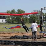 Building a Playground at Glazer Elementary School
