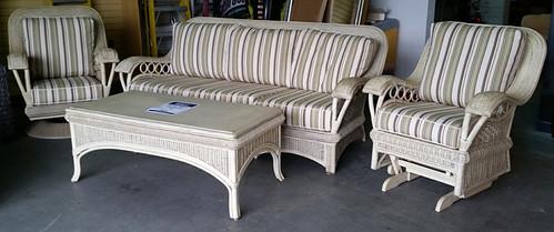 Acacia Home and Garden brand wicker furniture $995 set