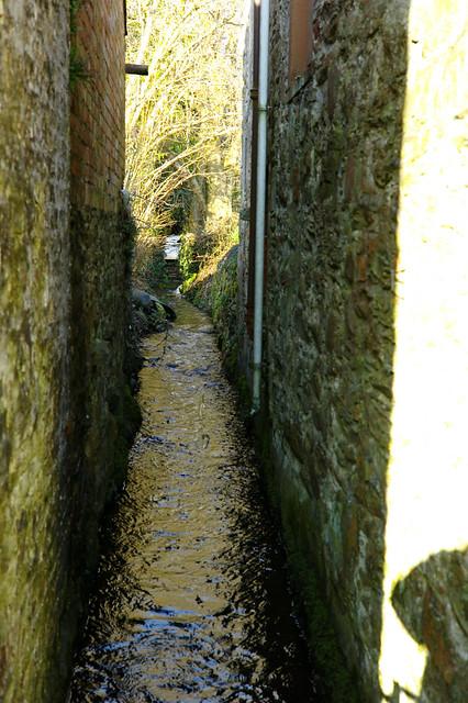 Gatehouse of Fleet - the mill race for the Mill on the Fleet