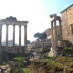 Pórtico del Templo de Saturno en el Foro Romano